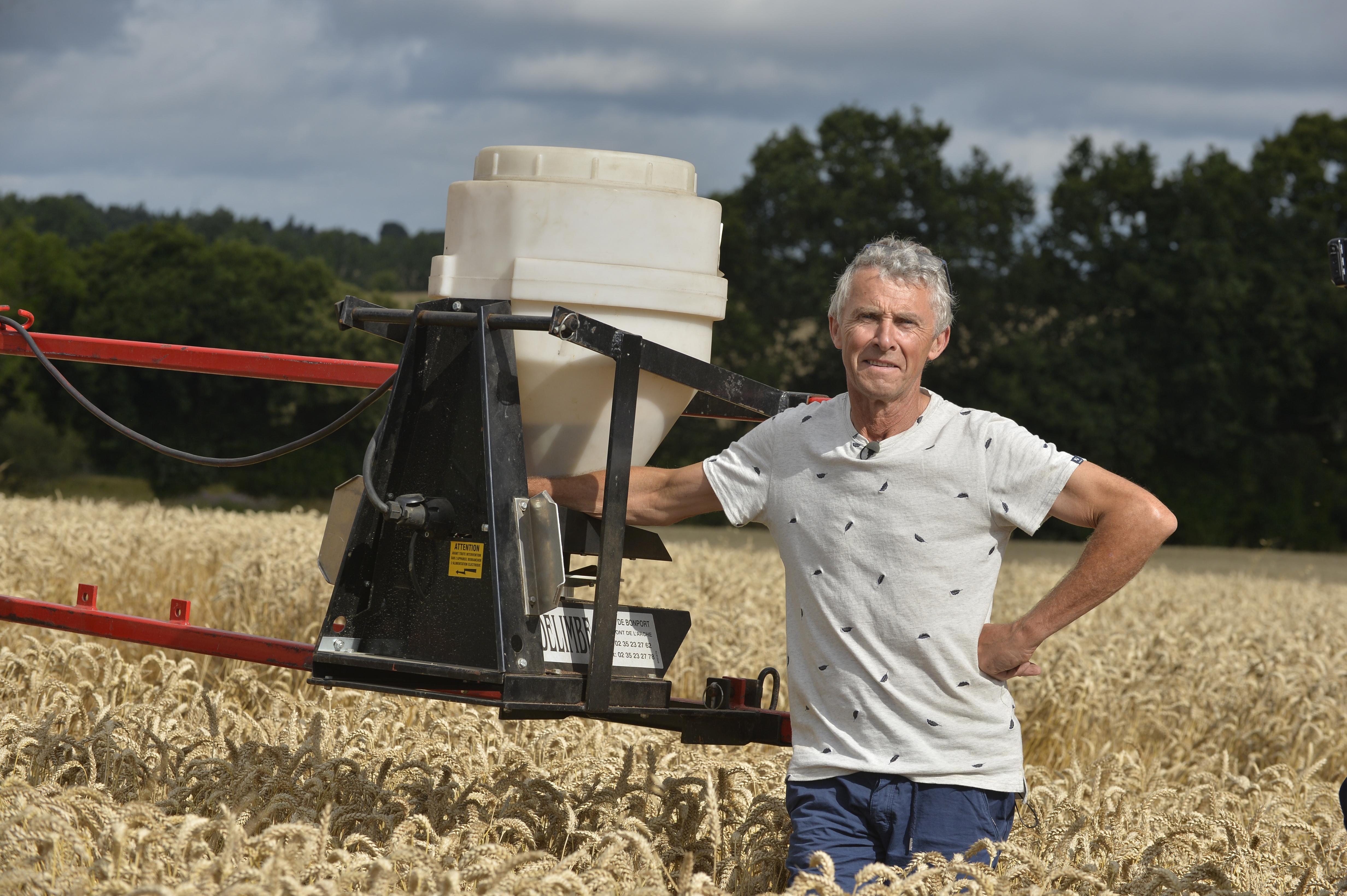 Guy Corbel, agriculteur à Trémeur (22) et vice-président de la Chambre d'agriculture