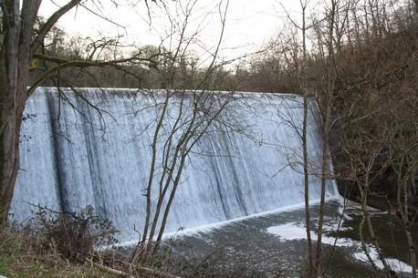 Barrage du Chat Cros avant travaux (Creuse)